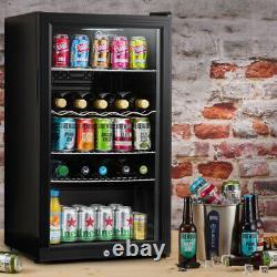 Subcold Super 85 LED Black Refurbished Grade C Beer & Wine Fridge 3-18 °C
