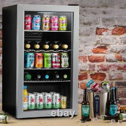 Subcold Super 85 LED Silver Refurbished Grade A Wine & Beer Fridge 3-18°C