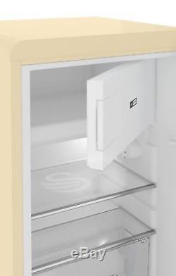Swan Retro Under Counter Fridge Cream (sr11035cn)