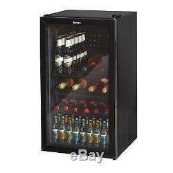 Swan Under Counter Chiller Beer Cans Bottles Wine Cooler SR12030BN