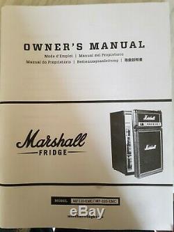 The Marshall Amp Fridge MF-220-XMC