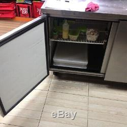 True Under Counter Refrigerated Pizza Sandwich Prep Station 2 Door Bargain L@@k