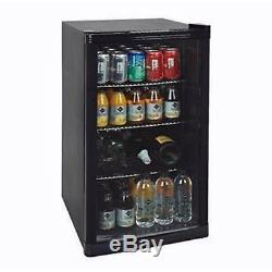 Under Counter Bar Beer Wine Drinks Bottles Cans Fridge Cooler Chiller Cabinet
