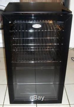 Under Counter Cooler Chiller Display Fridge Glass Front Reversible Door Drinks