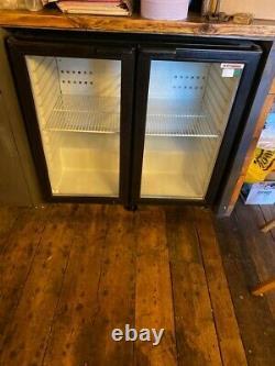 Under counter 2 Door Commercial fridge used