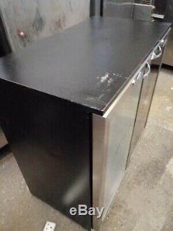 Under-counter double door Rhino Monaco fridge +2 and freezer -6c