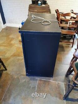Undercounter Commercial Double Door Bar Glass Fridge Bottle Cooler. Used