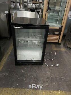 Undercounter drink display fridge commercial singl door bar fridge