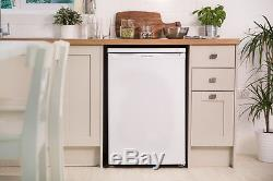Unused Russell Hobbs RHUCFZ55 55cm Wide White Under Counter Freezer
