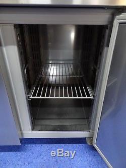 Whirlpool Three 3 Door Commercial Kitchen Prep Fridge Under Counter Or Worktop
