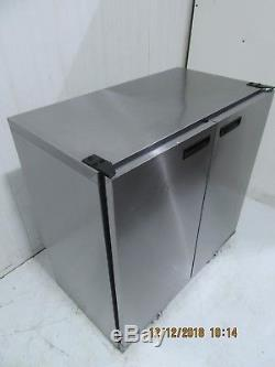 Williams Double Solid Door Under Counter Back Bar Club Drinks Chiller Bc2