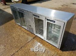Williams Four Glass Door Under Counter Drink Fridge