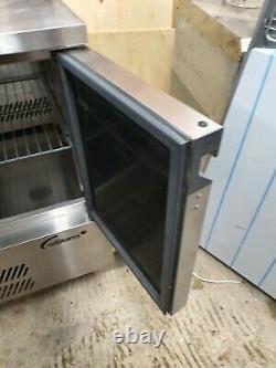 Williams H10CT Under Counter Fridge Stainless Steel 2 door