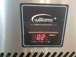 Williams HJC2SA 2 Door Stainless Steel Under Counter Fridge