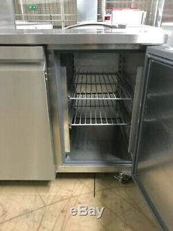 Williams Hjc2sa Stainless Steel 2 Door Under Counter Fridge With Castors 417