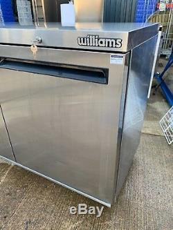 Williams Undercounter Commercial double Fridge catering StainlessSteel Pizza Pre