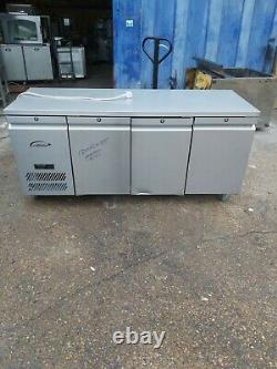 Williams undercounter 3 door freezer commercial worktop bench freezer -18/-21