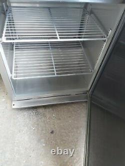 Williams undercounter single door fridge stainless steal heavy duty 60x60x88 cm