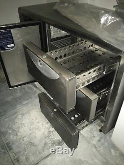 Williams undercounter stainless steel commercial fridge