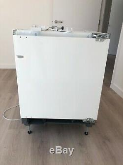 Zanussi Under Counter Integrated Fridge With Small Freezer Compartment