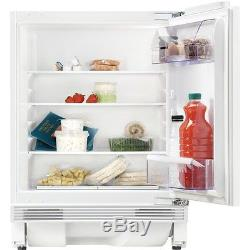 Zanussi ZQA14030DA Integrated Under Counter Worktop Larder Fridge Refrigerator
