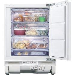 Zanussi ZQF11430DA Integrated Built-Under Counter 4 Star'A' Rated Freezer